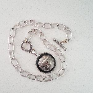 Authentic Chanel button charm